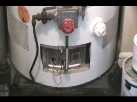 How To Fix Water Heater Will Not Stay Lit Sealed