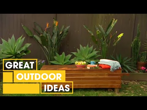 Better Homes And Gardens Diy How To Make An Outdoor