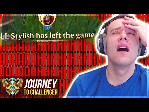 AAAAAAAAHHHHHHHHH!!!!!!!!!! - Journey To Challenger | League of Legends