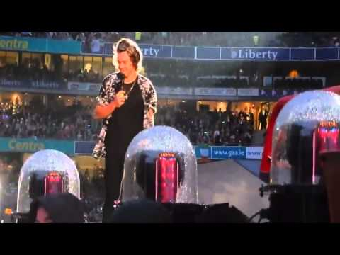 Harry Styles Cute Moments - Croke Park, May24