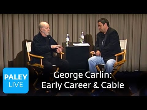 George Carlin - Early Career & Cable (Paley Center, 2008)