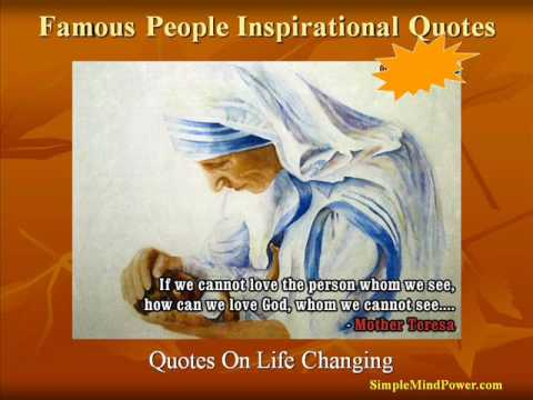famous inspirational quotes youtube