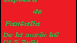 Captura La Pantalla De Tu LG(3,5,7y9) 2013 HD