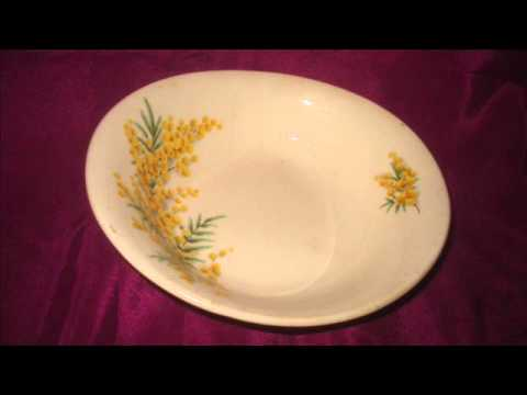 A Bristol golden days design English porcelain Vintage bowl made in England and what it is worth