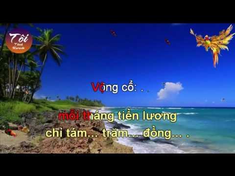 [Toi thich Karaoke] Han Mac Tu (Phung hoang - co 4-6 Don ca Nam)