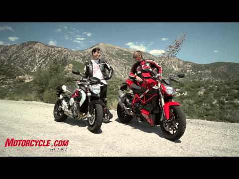 2013 MV Agusta Brutale 800 vs Ducati 848 Streetfigher
