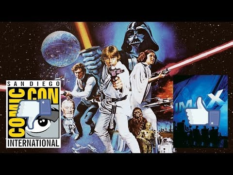 Star Wars Episode 7 Says No To Comic Con, Yes To Imax