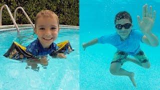 Challenge dans la piscine videos de piscine clips de for Swan et neo piscine