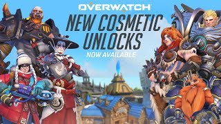 Overwatch - New Cosmetic Unlocks