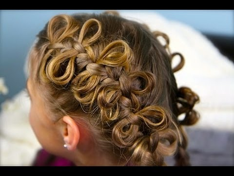 The Bow Braid | Cute Girls Hairstyles, For more fun and easy hairstyle ideas, please visit... http://www.cutegirlshairstyles.com Please don't forget to join our Facebook page! http://www.facebook....