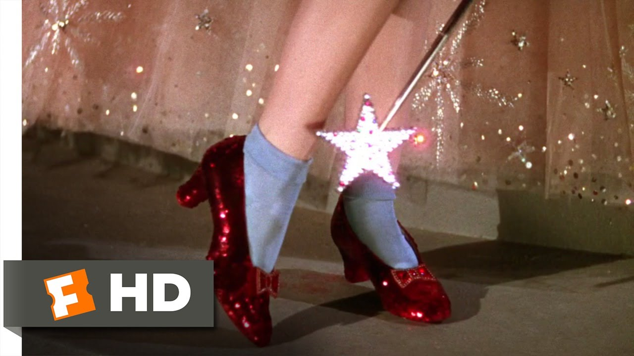 the ruby slippers the wizard of oz 38 movie clip