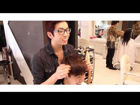 Tóc nam xoăn phồng tự nhiên Men's hair style 2012-2013
