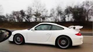 Porsche 997 GT3 vs BMW M5 E60 videos
