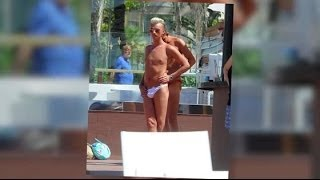 TOWIE Boys Take Tanning To A New Level In One-sided Thongs