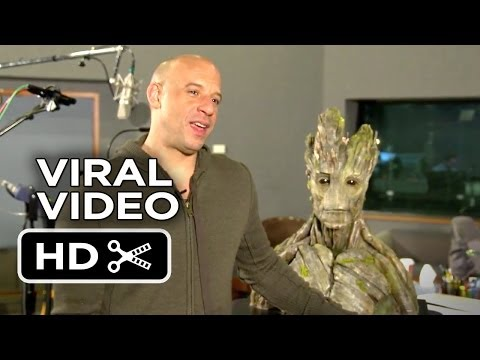 Guardians of the Galaxy Viral Video - Meet Groot (2014) - Vin Diesel Marvel Movie HD
