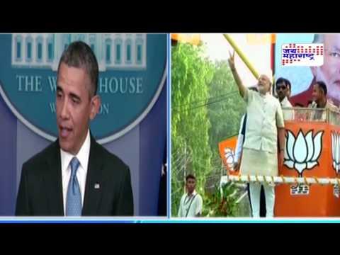 Obama congrats Narendra modi
