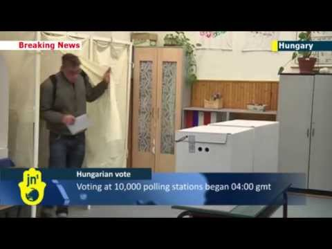Voting begins for Hungarian Parliamentary elections