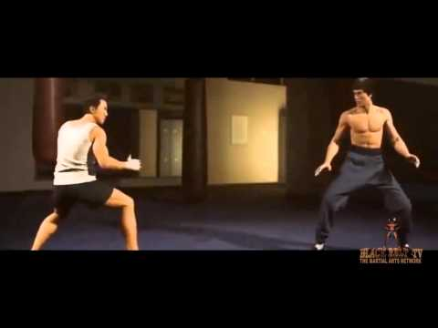 Donnie Yen vs Bruce Lee on BLACK BELT TV / THE MARTIAL ARTS NETWORK