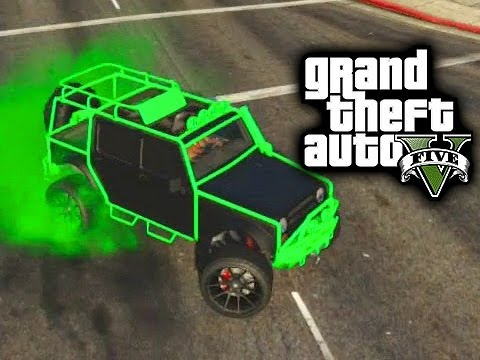 How to Get a Rare Jeep - GTA V Online Tips and Tricks ...