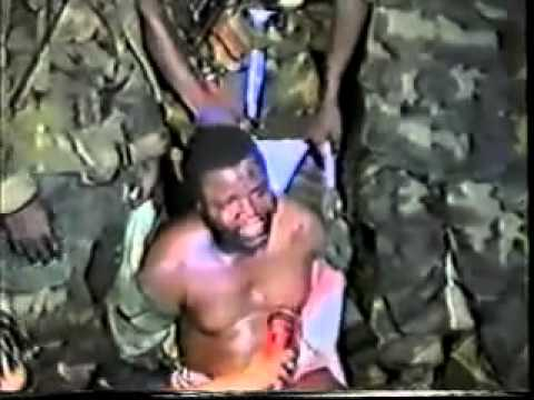 The Execution of former Liberian President Samuel K  Doe   YouTube