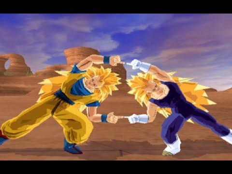 Goku SSJ3 And Vegeta SSJ3 Fusion  (Gogeta SSJ3) Dragon Ball Z Budokai Tenkaichi 3 MOD.