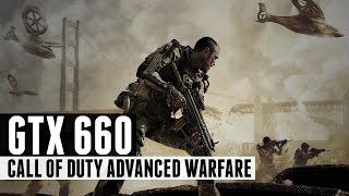 Call Of Duty Advanced Warfare I5 3450 + GTX 660 HIGH
