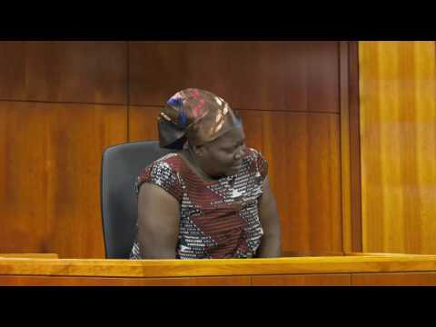 VIDEO: Mother of jailed Ghanaian footballer Kwame Bonsu breaks down in tears