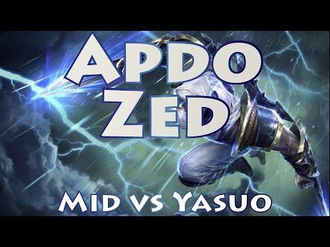 Apdo Zed, Mid vs Yasuo