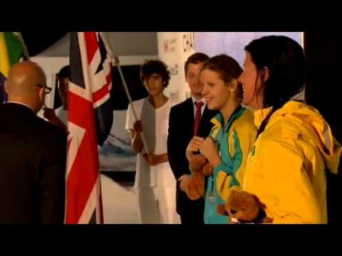 Swimming - women's 100m breaststroke SB6 medal ceremony - 2013 IPC Swimming World Championships
