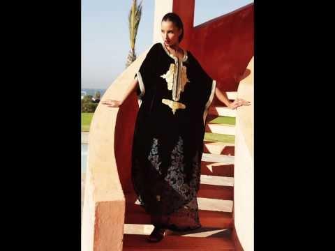 جلابيات مغربية 2014 أزياء دبلين شتاء 2014  dublin