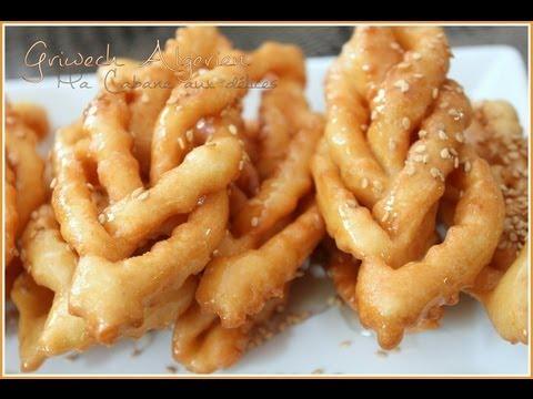 Griweche griwech gateau au miel pour le ramadan youtube - Samira tv cuisine youtube ...