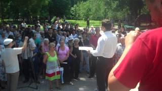 Protest la Tiraspol pentru libertatea cuvîntului