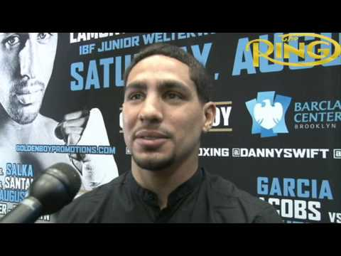 "Danny Garcia: ""I got something to prove"" vs. Rod Salka"