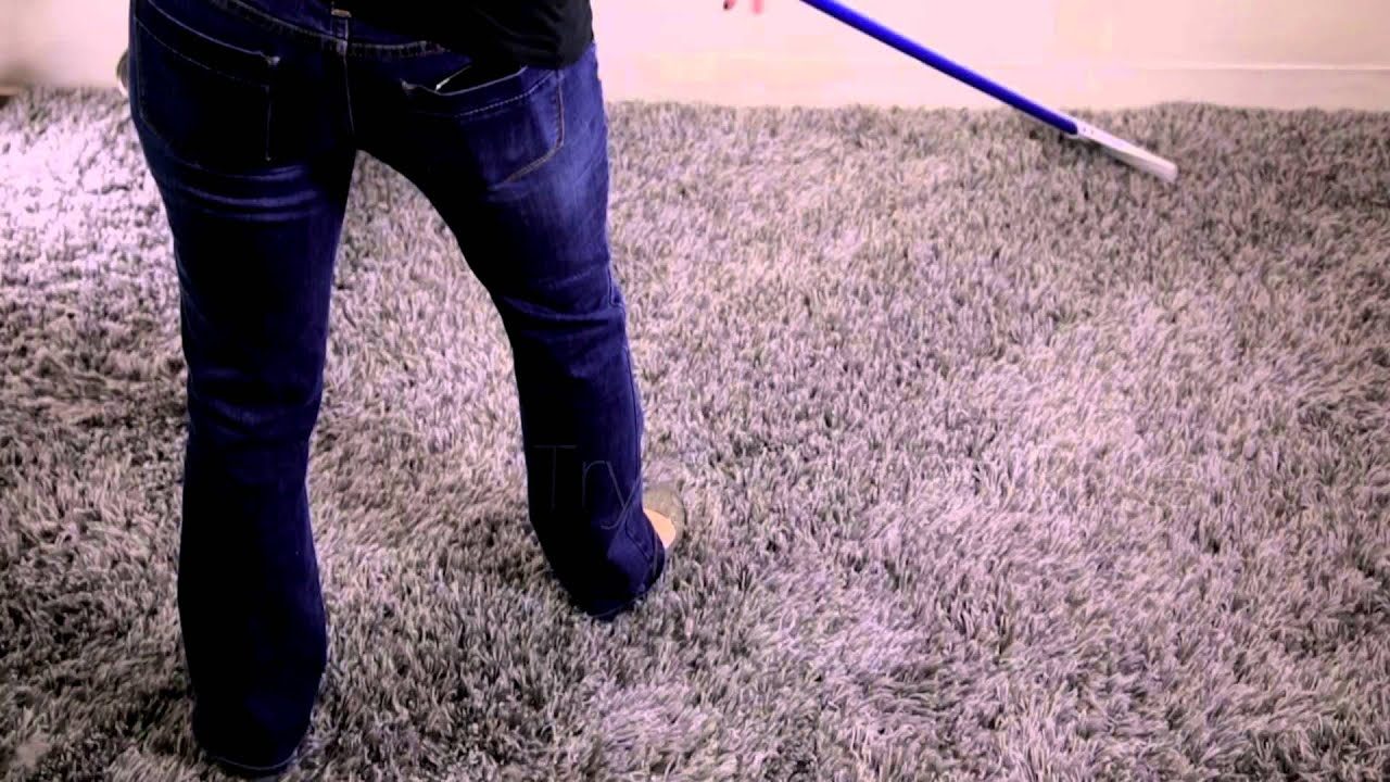 Perky Carpet Rake Fixes Smashed Amp Tired Carpet Youtube