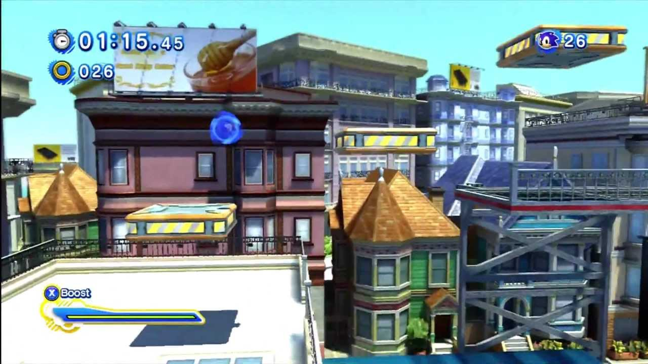 sonic generations city escape modern 1080 hd youtube