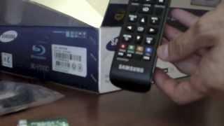 Blu Ray Samsung BD-F5100 Unboxing (Gadgets)