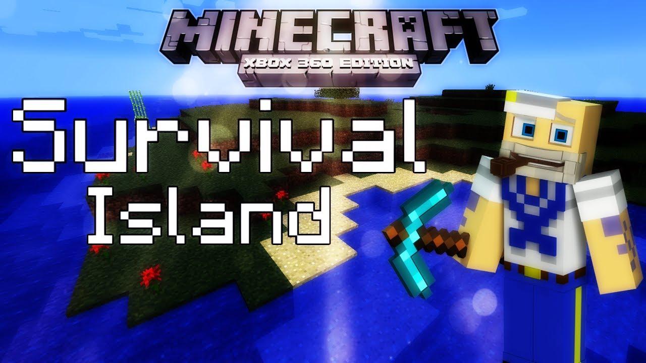 Minecraft survival island xbox 360 edition multiplayer part 1