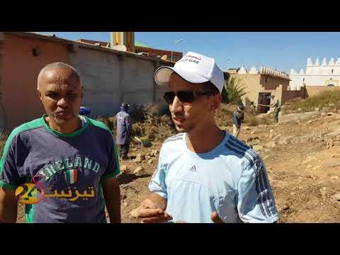 تنظيف مقبرة سيدي عبد الرحمان