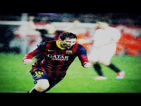 Lionel Messi ● All 41 Goals in 2013-2014 ● With Commentary