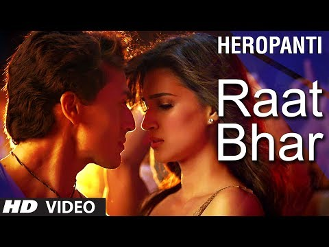 Heropanti : Raat Bhar Video Song | Tiger Shroff  | Arijit Singh, Shreya Ghoshal Music Videos