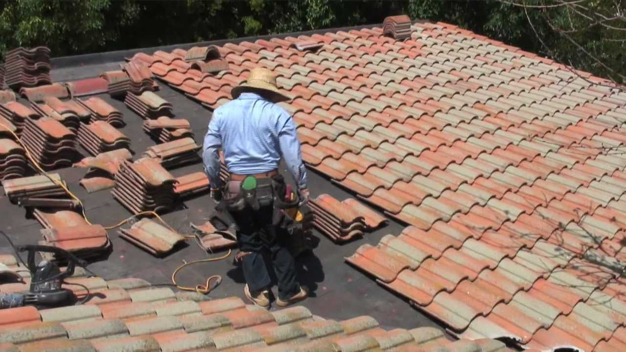 How To Install Concrete Roof Tiles