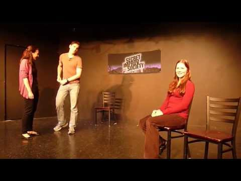 Surprise Proposal During an Improv Show! Joel & Rebekah Get Engaged