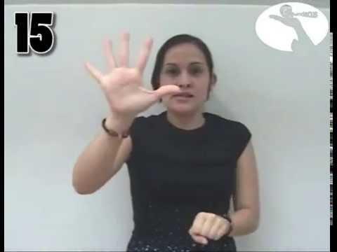 Números en lengua de señas Venezolano, Fundecus