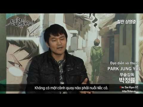 [Vietsub] [Kim Soo Hyun's Movie 2013] Secretly Greatly - Behind Action Scenes