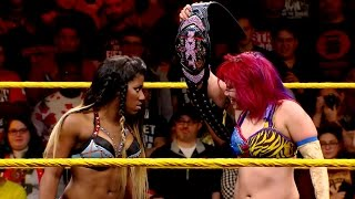 Asuka vs. Ember Moon - NXT Women's Championship Match