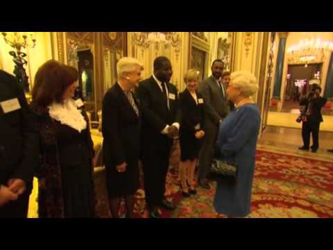 Film Royalty Meets Queen Elizabeth II