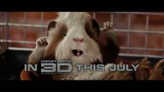Disney's G-Force 3D Movie Trailer 2009