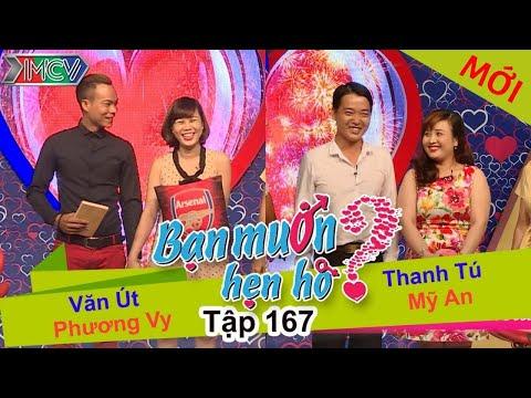 BẠN MUỐN HẸN HÒ - Tập 167 | Văn Út - Phương Vy | Thanh Tú - Mỹ An | 15/05/2016