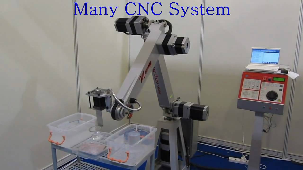 5 axis robot arm youtube Motor for robotic arm