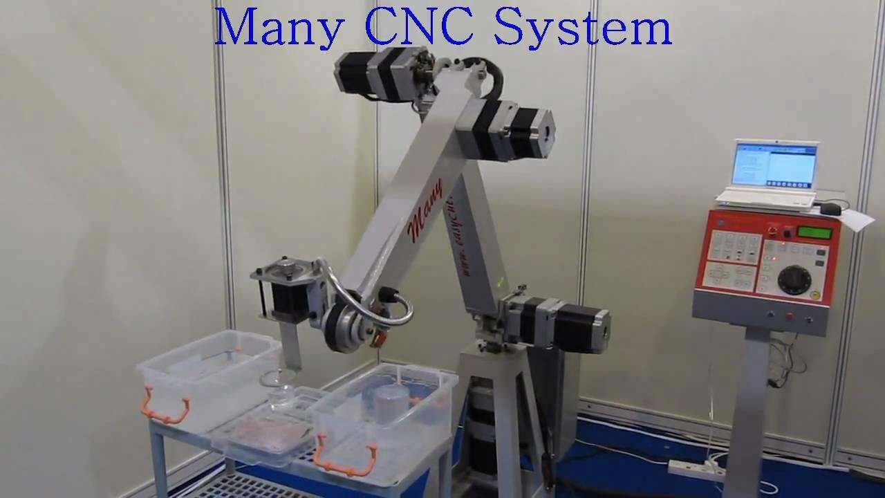 5 Axis Robot Arm Youtube